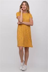 שמלה בייסיק בצבעי מלנז'