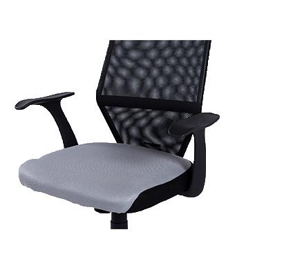 כסא מנהל אורתופדי בעל מבנה ארגונומי ומושב מרופד גבוה TAKE IT - תמונה 3