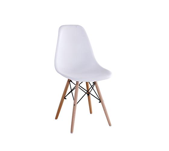 כיסא בעיצוב מודרני וצעיר לפינת אוכל במגוון צבעים לבחירה  - תמונה 2