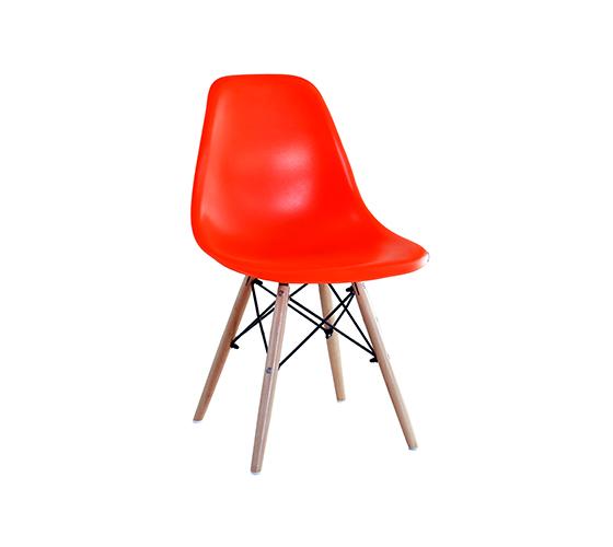 כיסא בעיצוב מודרני וצעיר לפינת אוכל במגוון צבעים לבחירה  - תמונה 4