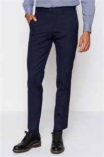 מכנס אלגנטי מצמר לגבר DEVRED דגם 4062094 בצבע כחול נייבי