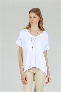 חולצה  שוגי - לבן