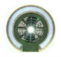 פנס לד GURO מאוורר לאוהל כולל 3 מצבי תאורה