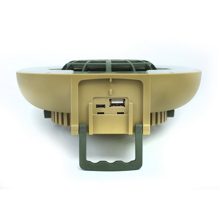 פנס לד GURO מאוורר לאוהל כולל 3 מצבי תאורה  - משלוח חינם - תמונה 5