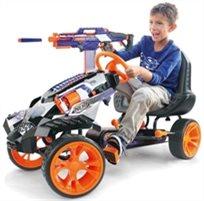 מכונית באגי לילדים עם פדלים נרף Nerf Battle Racer Ride