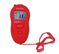 מדחום מיני אינפרא אדום המאפשר מדידה מדויקת בתוך שניות ללא צורך במגע