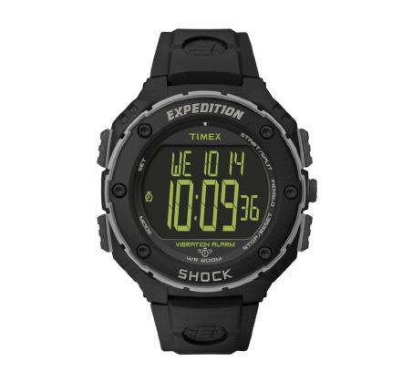 שעון דיגיטלי SHOCK לגברים - שחור
