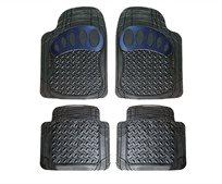שטיח טי רקס שחור/ כחול