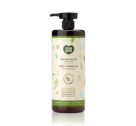 סבון גוף משפחתי מגיל חצי שנה ירקות ירוקים