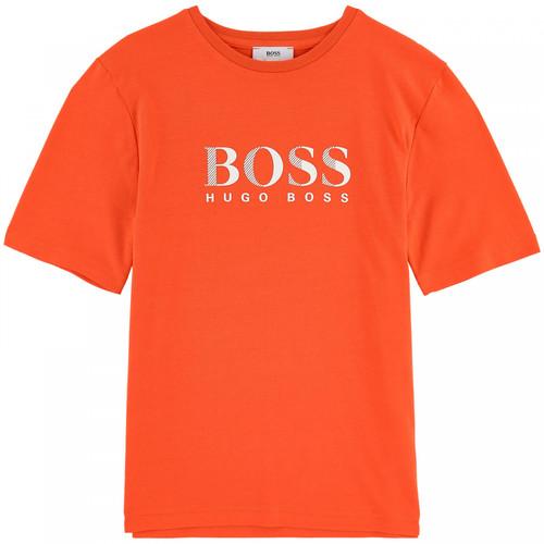 Boss חולצת טישרט (16-8 שנים) כתום