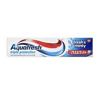 10 יחידות משחת שיניים AquaFresh Mint אקווה פרש מינט