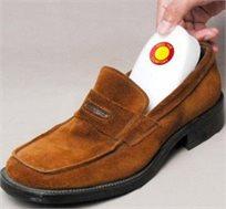 סט 4 רפידות ויסקו לעקב אשר מונעות את החיכוך בין העקב לנעל ומונעת כאבים ושפשופים מיותרים.