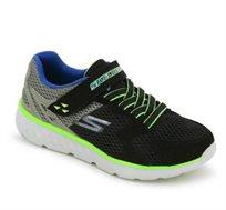 נעלי ספורט לילדים - שחור/ירוק