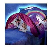 אוהל החלומות לילדים הופך את השינה לכיף גדול במבחר דגמים אהובים
