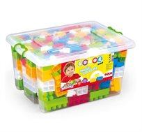 משחק 230 קוביות בנייה איכותיות בקופסא לילדים מבית דולו