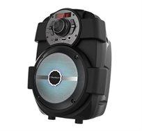 בידורית ניידת 6.5 אינץ מולטי פונקציונלית + מיקרופון חוטי מתנה דגם SK1030