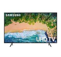 מסך לד Smart TV UHD בעברית +HDR מחברת Samsung דגם UE65NU7172 + התקנה