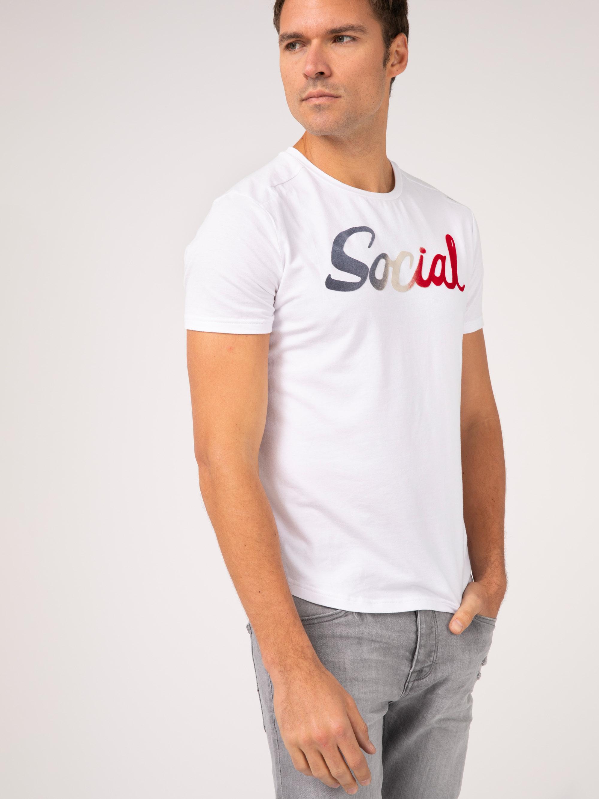 חולצת טי Social אורבנית