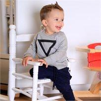 ORO חליפת פוטר (3 חודשים - 4 שנים) - משולש אפור