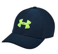 כובע מצחיה UNDER ARMOUR לגברים - כחול כהה