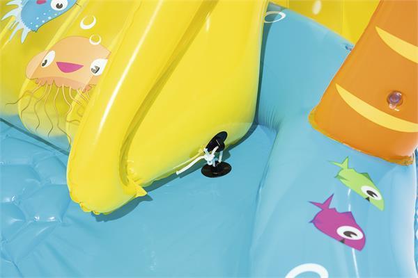 מרכז פעילות ימי דולפין כריש + מגלשה BESTWAY - משלוח חינם - תמונה 4