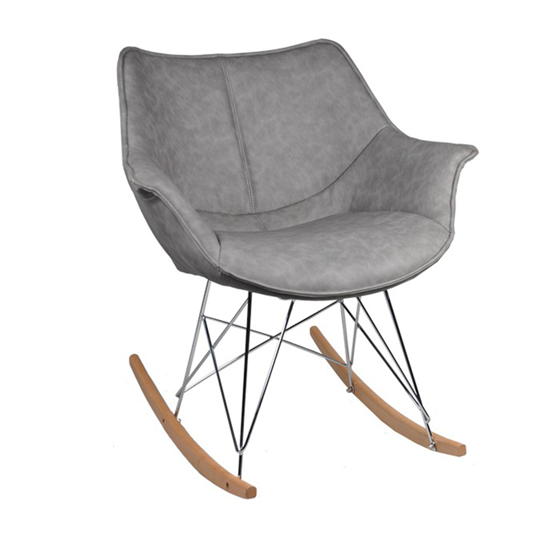 כסא נדנדה דגם רוקר בסגנון מודרני בצבעים לבחירה