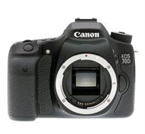 מצלמת CANON SLR EOS 70D באיכות 20.2MP עם WiFi מובנה ומסך מפרקי לצילום נוח יותר כולל עדשה 18-135