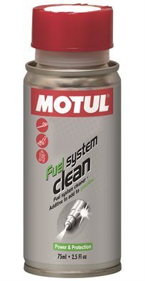 תוסף ניקוי מערכת דלק קטנוע 75ML MOTUL