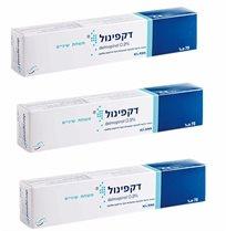 Decapinol Toothpaste Gel Fluoride