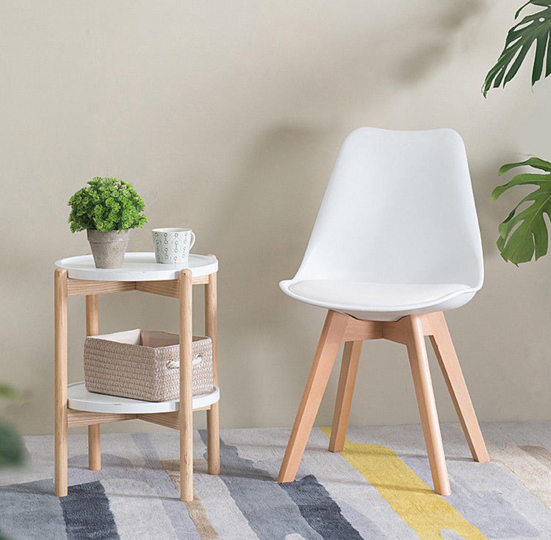 כסא מרופד דמוי עור למשרד וחדרי אוכל במגוון צבעים לבחירה