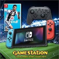 "Nintendo Switch נינטנדו סוויץ' חבילת פיפ""א"