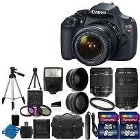 סט הצילום המושלם! מצלמת Canon T5 מקצועית עם ציוד צילום מלא במחיר מדהים