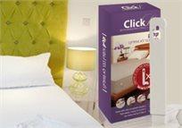 מהפכה במיטה! הפטנט העולמי ClickL - סט זויות איכותיות לשמירת הסדינים מתוחים וישרים - הדגם החדש