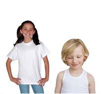 1+1! מארז שישיית חולצות/גופיות Hanes לילדים ולנוער