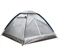 אוהל קמפינג ל-6 אנשים בצורת איגלו באורך 3 מטר, נוח וקל לשימוש