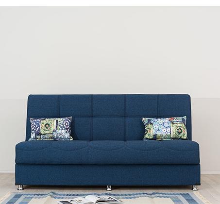 ספה תלת מושבית Aurora נפתחת בקלות למיטה וכוללת ארגז מצעים SIRS  - תמונה 2