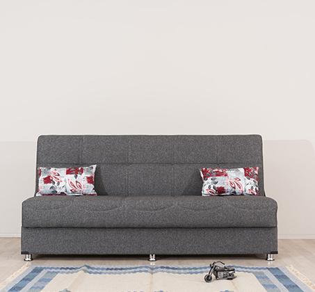 ספה תלת מושבית Aurora נפתחת בקלות למיטה וכוללת ארגז מצעים SIRS  - תמונה 4