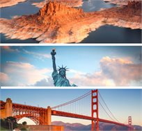 """10 ימי טיול בארה""""ב-לוס אנג'לס, סן פרנציסקו, פארק יוסמיטי, לאס וגאס ועוד רק בכ-$2999*"""