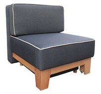 כורסאת אירוח נפתחת למיטת יחיד עם ארגז מצעים Or-Design דגם גולן
