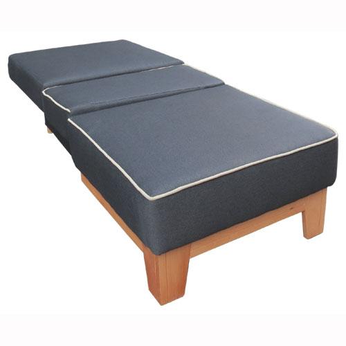 כורסת ארוח קומפקטית חד מושבית נפתחת למיטת יחיד כוללת ארגז מצעים דגם גולן Or-Design - תמונה 3