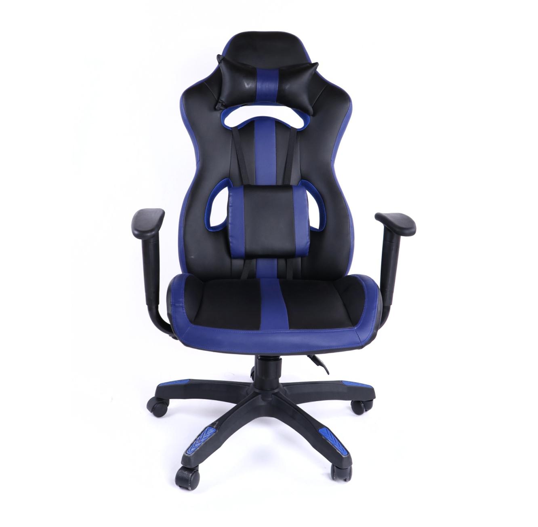 כיסא גיימרים אורתופדי עשוי דמוי עור עם מבנה אורגמי המקנה תמיכה לכל הגוף  - משלוח חינם - תמונה 8