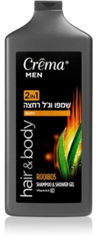 Crema Men Shampoo & Shower Gel