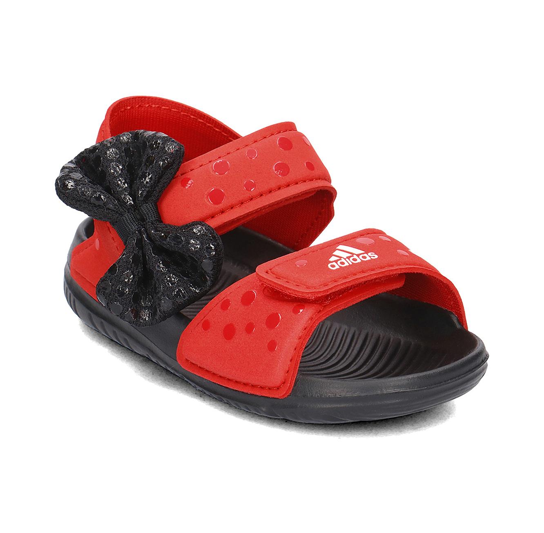 סנדלי ילדות דגם CQ0108 DY M&M ALTASWIM I בצבע אדום שחור