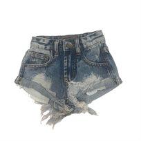 ORO/ שורט ג'ינס (16-2 שנים) - כחול תפר
