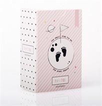מוצר:החתמת כפות רגלים לתינוק טיפיטו- ורוד