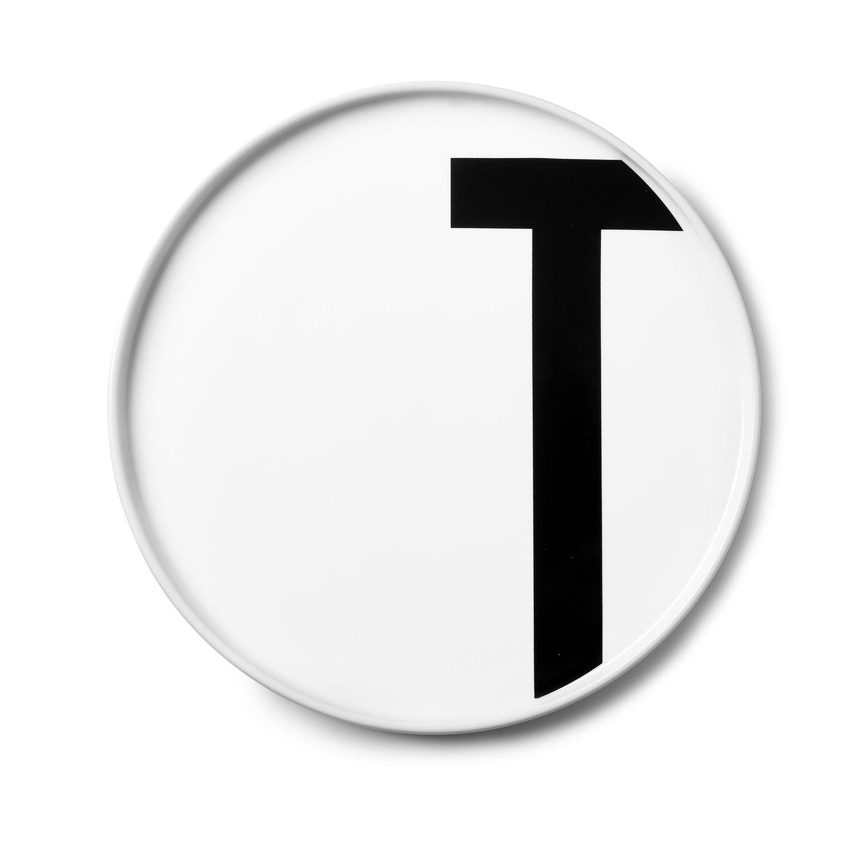 Design Letters// Aj Porcelain Plates T