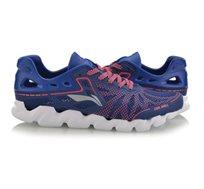 נעלי ריצה לגברים Li Ning Soft Shell Lightweight Running בצבעי כחול/ורוד
