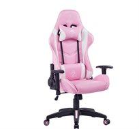 כסא גיימינג OLYMPUS בצבע ורוד דגם GPDRC-OLY-P