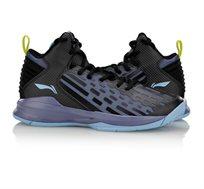 נעלי כדורסל מקצועיות לגברים Li Ning Dominator On Court בצבעי שחור/סגול