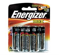 שלוש מארזי סוללות שמינייה אלקליין AA/AAA לבחירה Energizer